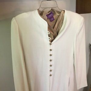 Neiman Marcus Jacket, Suzanne Somers Top. Size 10,